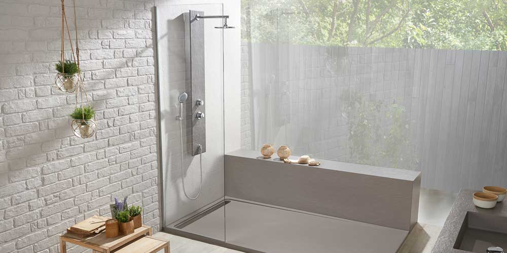 Acquabella shower tray Surrey