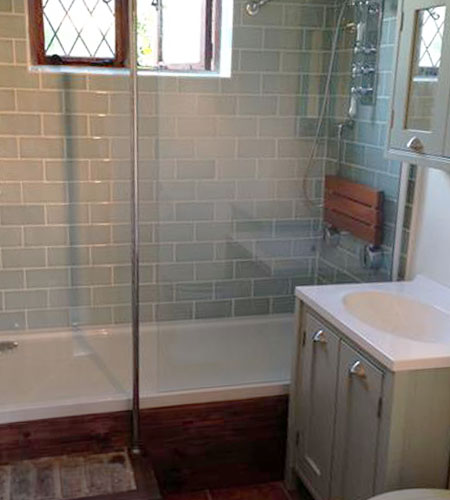 Bathroom installation - Reigate, Surrey